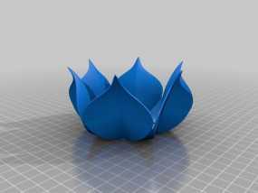 莲花碗 3D模型