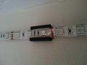 壁挂式LED光带架 3D模型