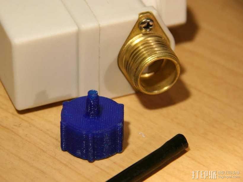 点滴器配适器/连接器 3D模型  图2