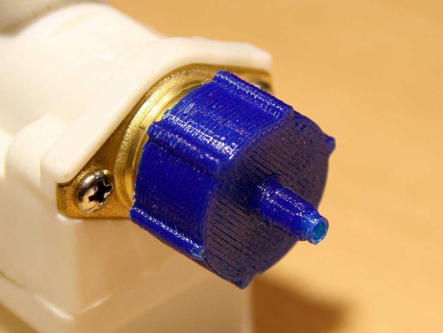 点滴器配适器/连接器 3D模型  图3
