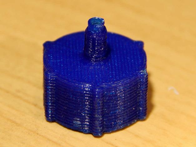 点滴器配适器/连接器 3D模型  图5