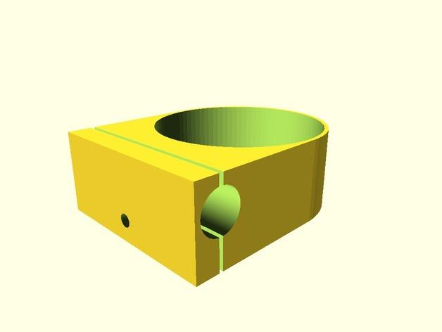 庭院秋千杯托 3D模型  图3