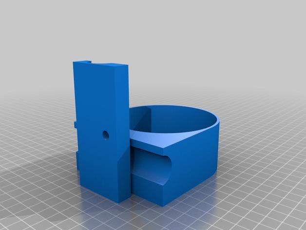 庭院秋千杯托 3D模型  图4