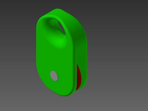 家用迷你滑轮 3D模型  图1