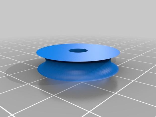 家用迷你滑轮 3D模型  图2