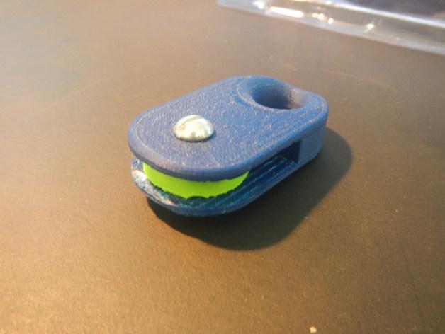 家用迷你滑轮 3D模型  图5