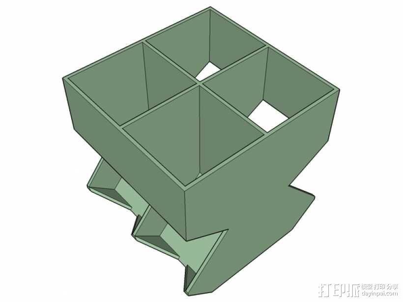 雀巢胶囊咖啡架 3D模型  图2