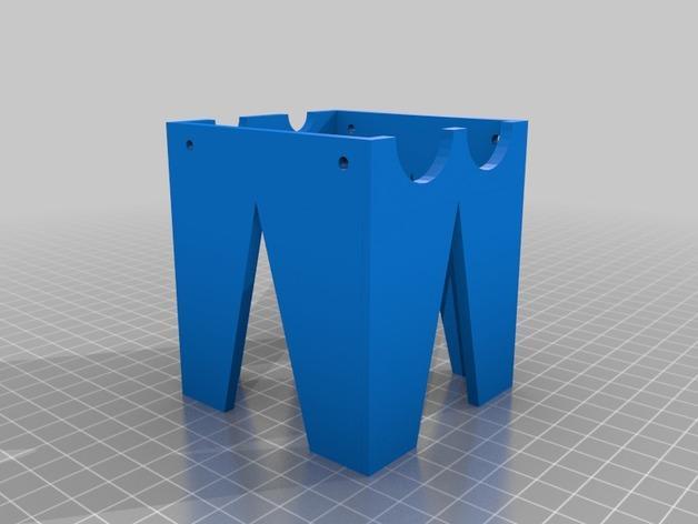 迷你玉米片压碎机 3D模型  图2