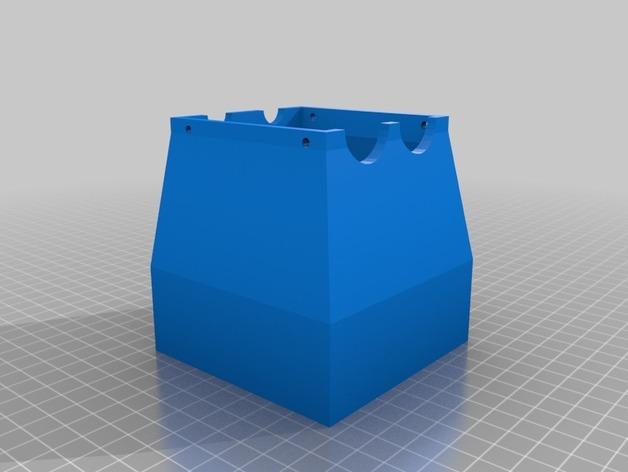 迷你玉米片压碎机 3D模型  图4