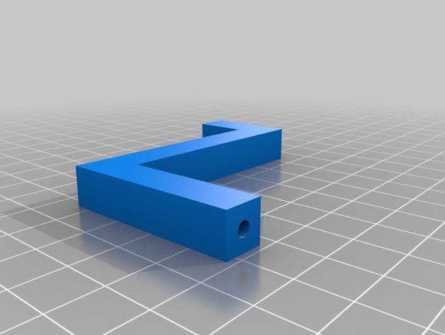 迷你玉米片压碎机 3D模型  图7