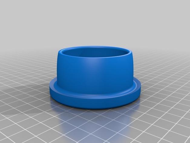 法式黄油碗 3D模型  图3