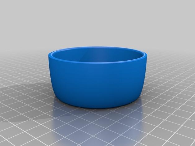法式黄油碗 3D模型  图4