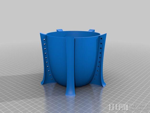 个性化花瓶 3D模型  图4