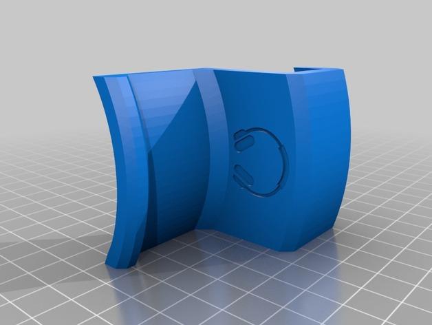 办公室耳机挂钩 3D模型  图5
