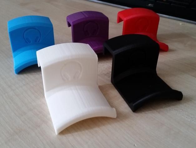 办公室耳机挂钩 3D模型  图3