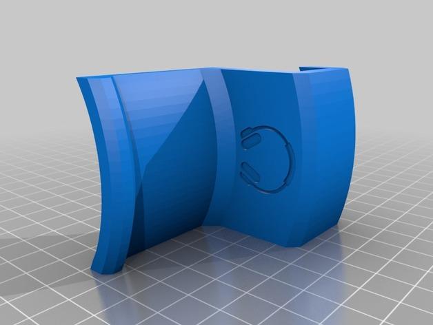 办公室耳机挂钩 3D模型  图6