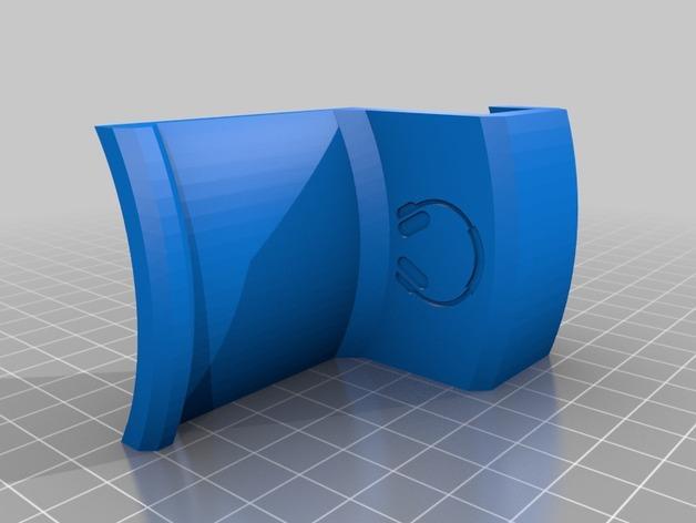 办公室耳机挂钩 3D模型  图7