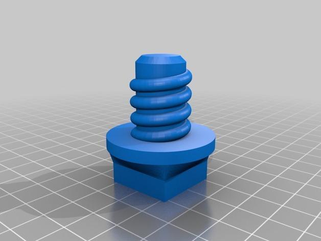 温蒂屋螺丝 3D模型  图3
