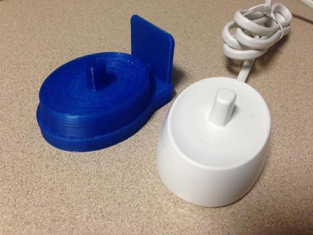 壁挂式电动牙刷架 3D模型  图6