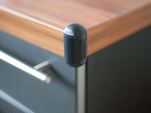 桌角保护套 3D模型  图3