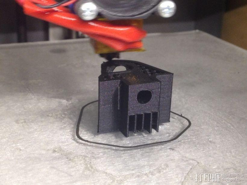 奔驰w126汽车遮阳板夹 3D模型  图7