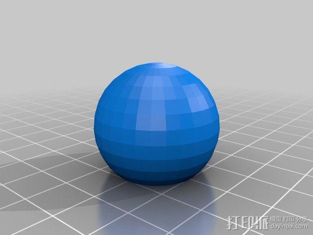桌上足球零部件 3D模型  图6