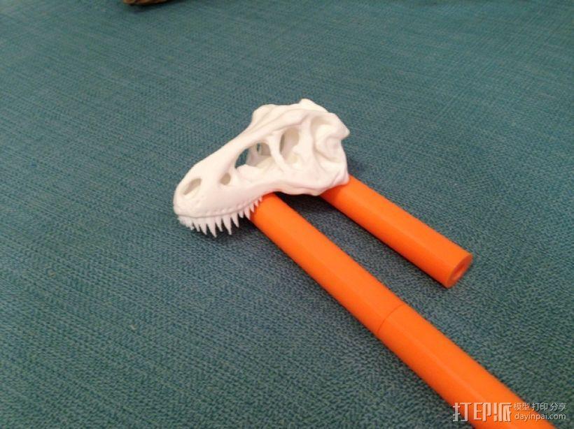 恐龙形长柄扒 3D模型  图10
