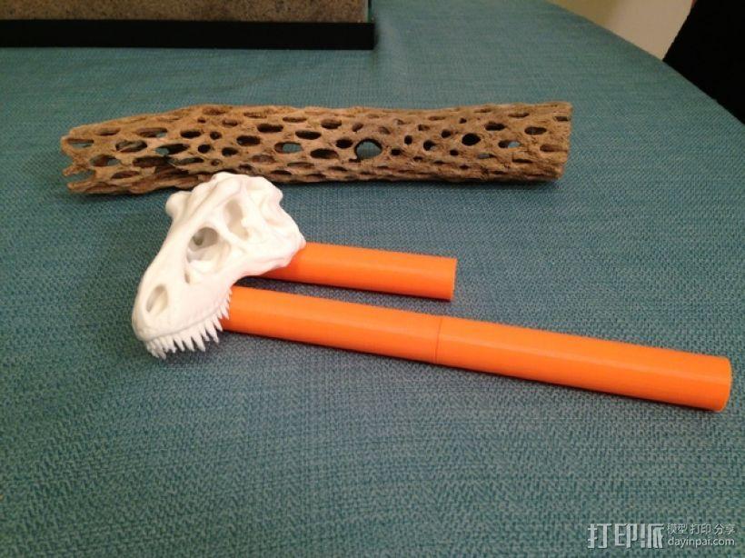 恐龙形长柄扒 3D模型  图11
