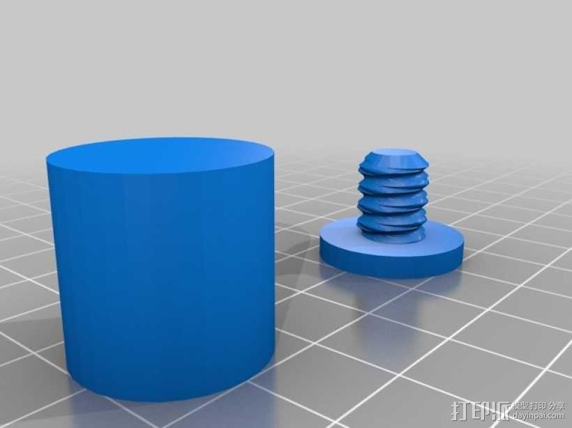 恐龙形长柄扒 3D模型  图14
