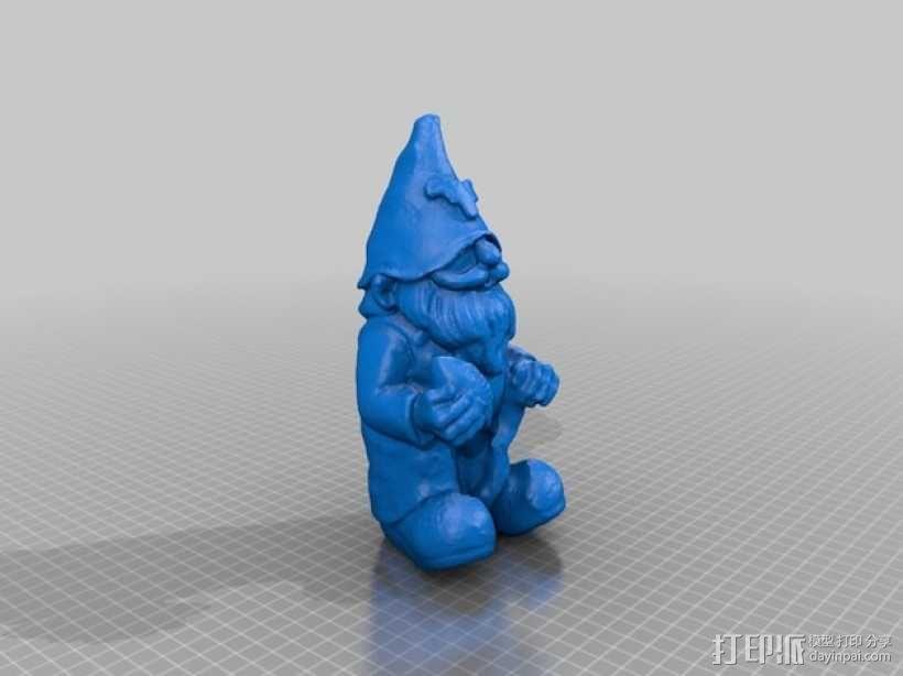 迷你精灵/小矮人 3D模型  图1