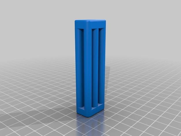 牙膏挤出装置 3D模型  图1