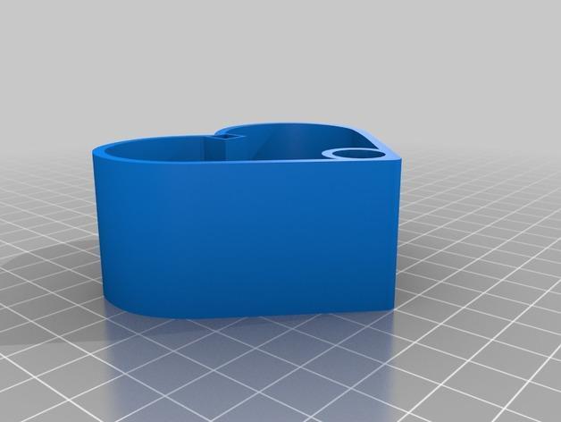 MozLove心形礼物盒 3D模型  图2