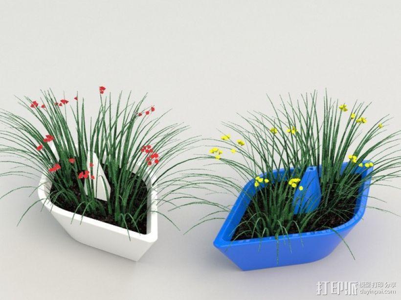 迷你可爱花盆 3D模型  图7