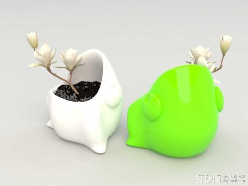 迷你可爱花盆 3D模型  图6