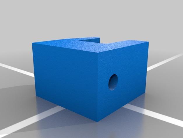 壁挂式三星平板电脑固定架 3D模型  图2