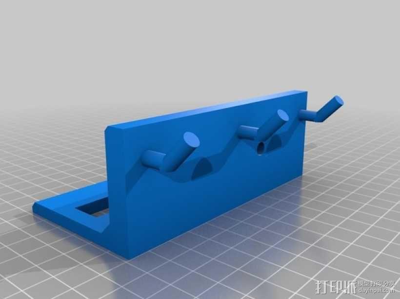 壁挂式工具架 3D模型  图2