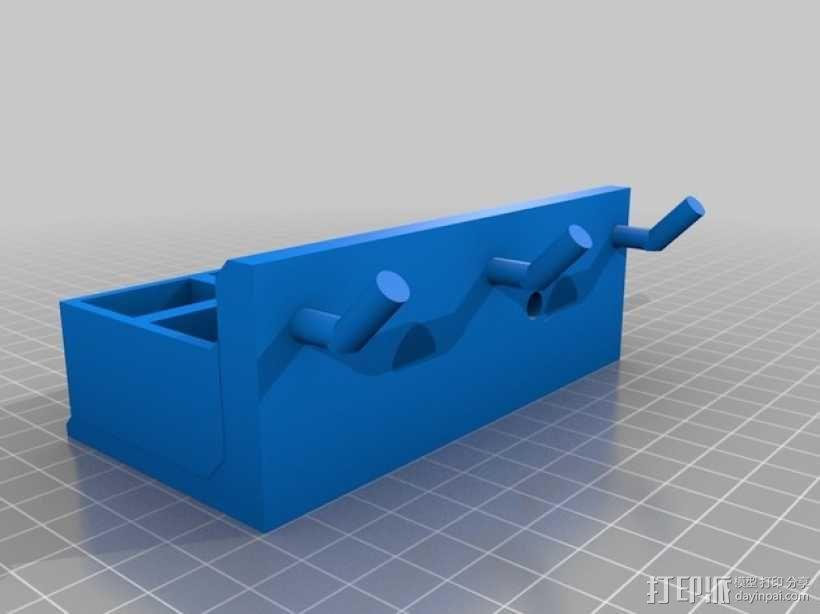 壁挂式工具架 3D模型  图4
