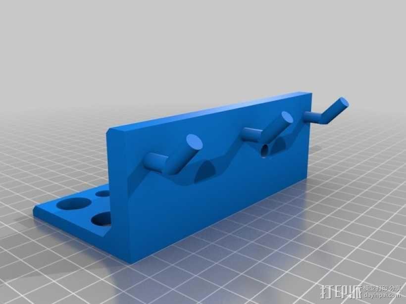 壁挂式工具架 3D模型  图5