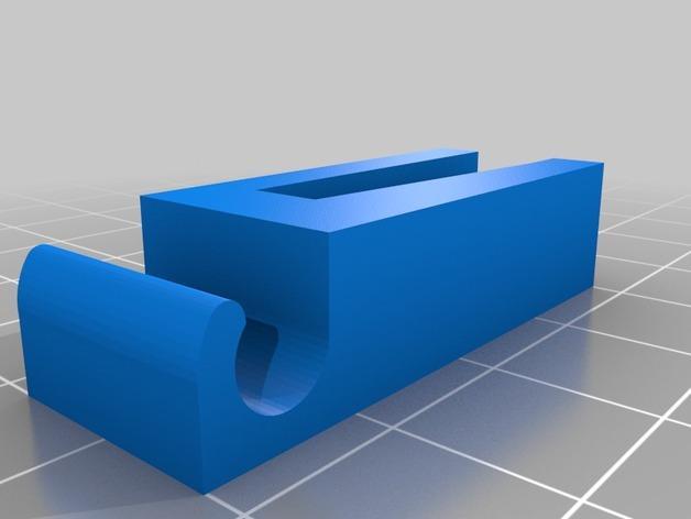 滴灌花盆夹 3D模型  图2