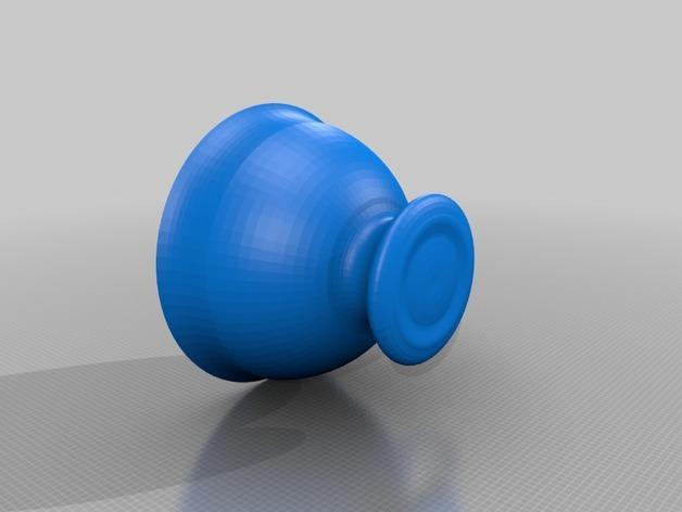 茶碗茶托 3D模型  图3