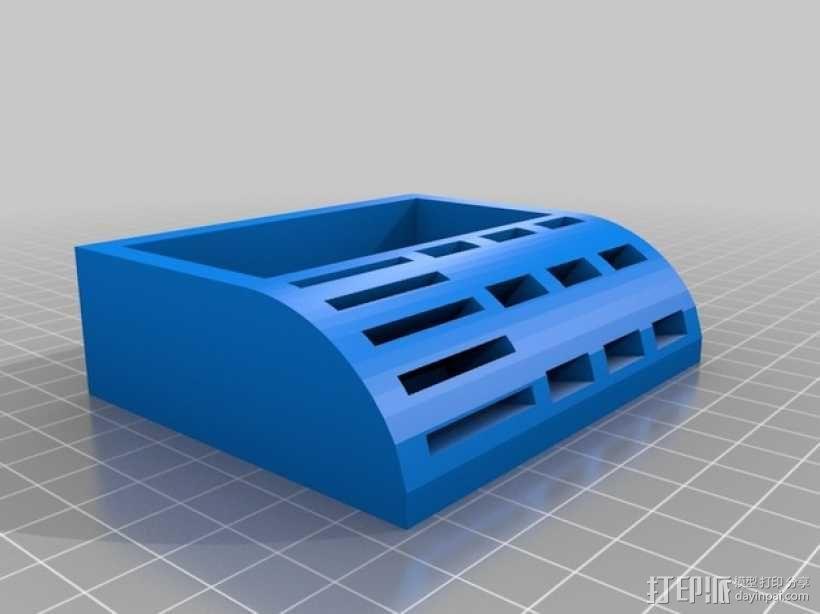 USB/SD卡架 3D模型  图3
