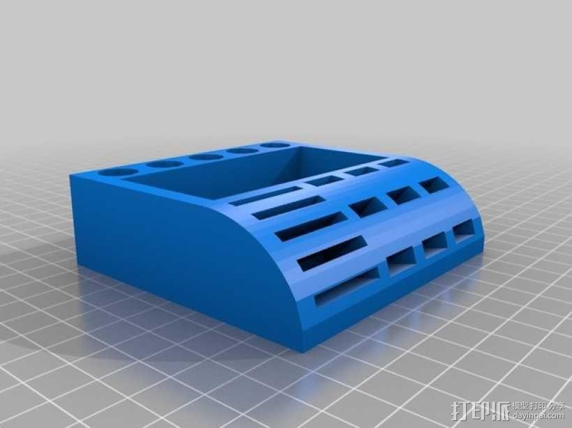 USB/SD卡架 3D模型  图2
