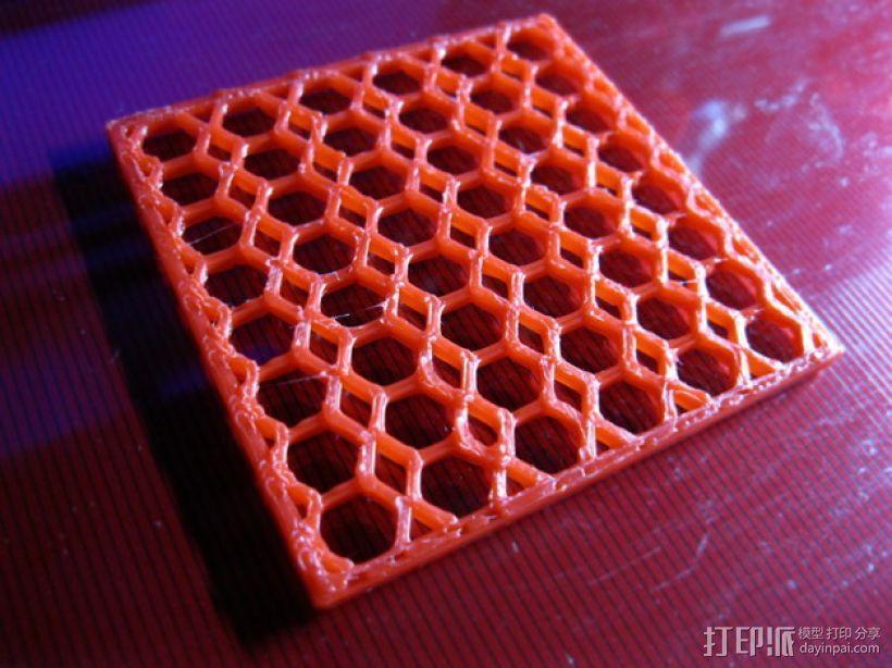 洗碗机银制餐具过滤器 3D模型  图1