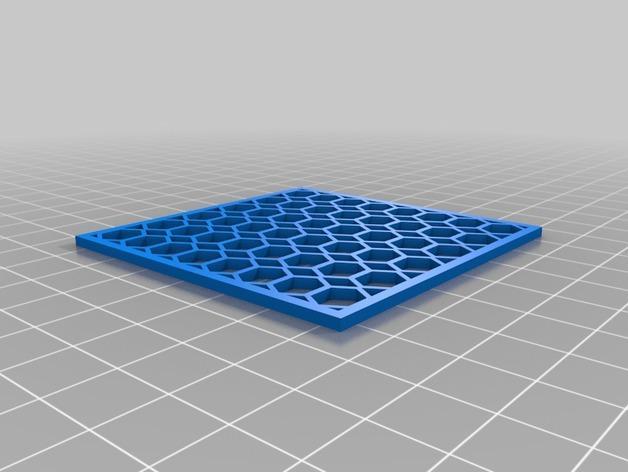 洗碗机银制餐具过滤器 3D模型  图2