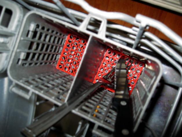 洗碗机银制餐具过滤器 3D模型  图3