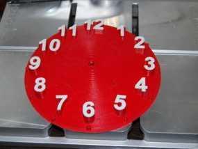 数字时钟底座 3D模型