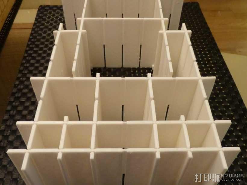 灵活多变的抽屉隔板 3D模型  图1