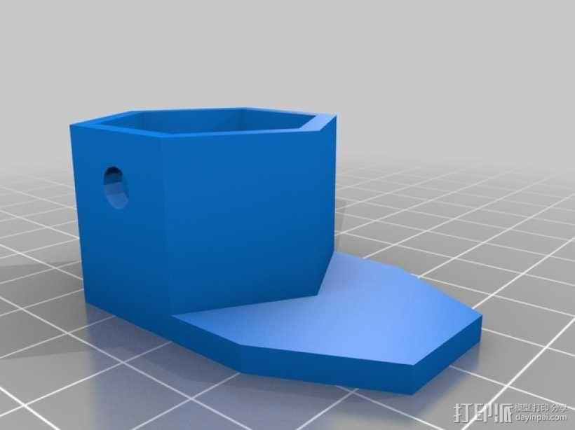 太阳能植物台灯 3D模型  图19