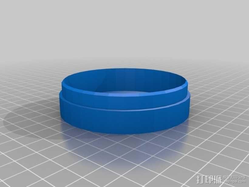 防水烟灰缸 3D模型  图3
