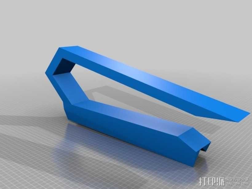 蝴蝶挂钩 3D模型  图3